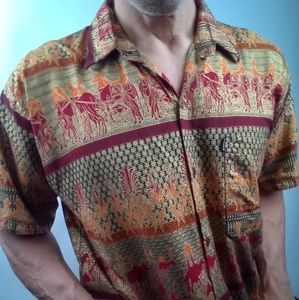 Other - Decorative Indonesian style shirt